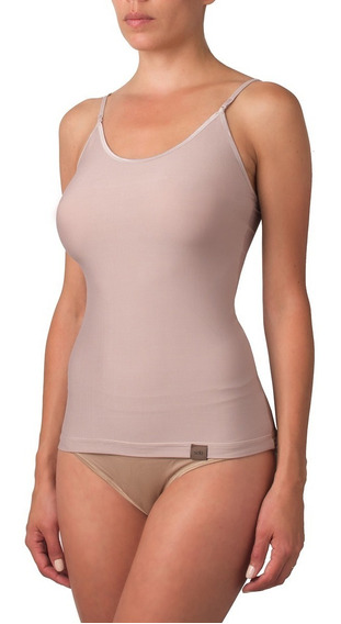 Camiseta Bretel Fino Algodón - Selu 15