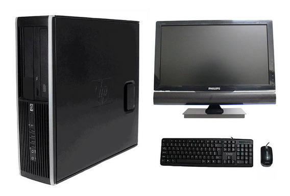 Computador Hp 8200 I5 8gb 1tb Monitor Tv 18,5 Polegadas