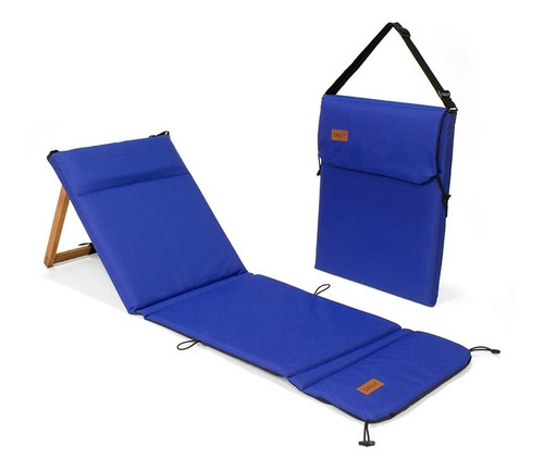 Reposera Playera Plegable Chilly - Modelo Azul Francia