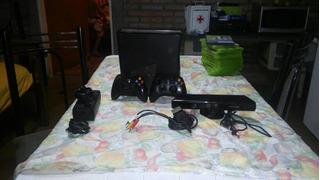 Xbox 360 Con 12 Juegos + Juegos Digitales 2 Mandos Y Kinect