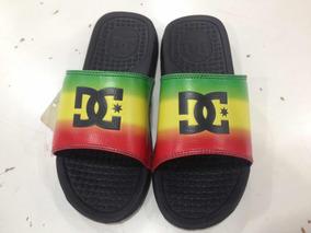Chinelo Dc Shoes Importado Original Rasta