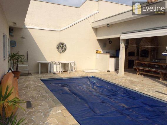 Vila Oliveira - Casa Térrea A Venda - 3 Dms (1 Suite) - 4 Vagas - V869