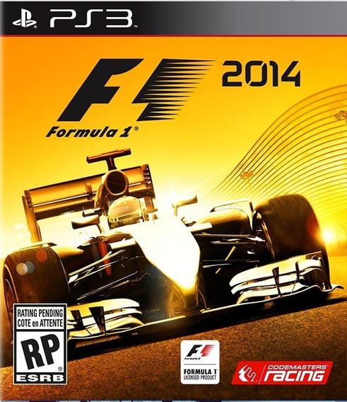 F1 2014 Psn Ps3 Envio Rapido Portugues Formula 1 2014