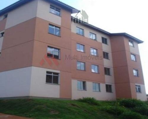 Ótimo Apartamento Com 2 Dormitórios - Residencial Carlos Machado - Mi609