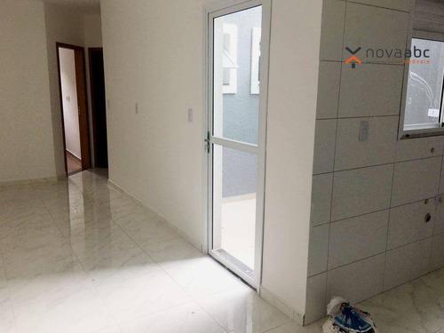 Imagem 1 de 15 de Apartamento À Venda, 52 M² Por R$ 305.000,00 - Campestre - Santo André/sp - Ap2049