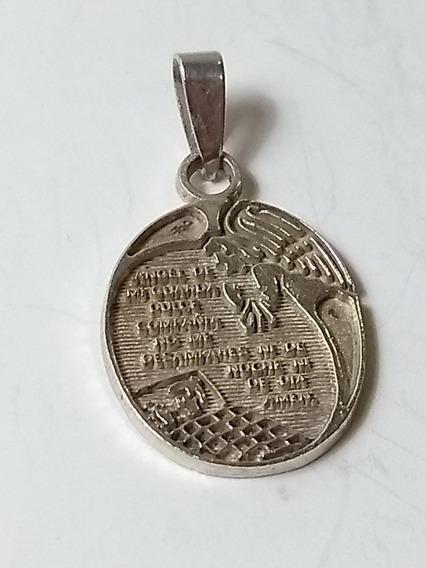 Medalla Plata Angel De Mi Guarda