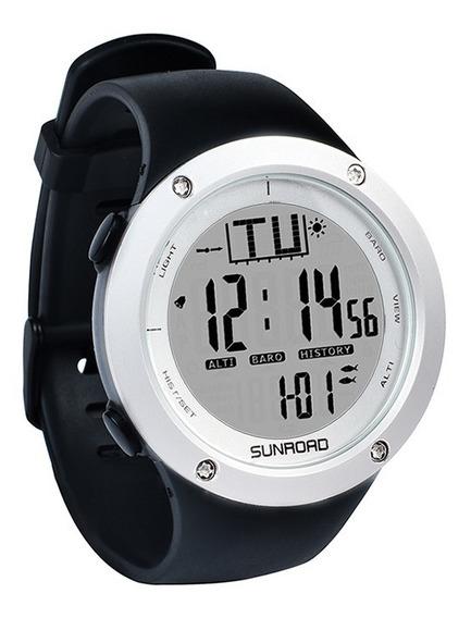 Relógio Masculino Altímetro, Barômetro, Temperatura, Pesca..
