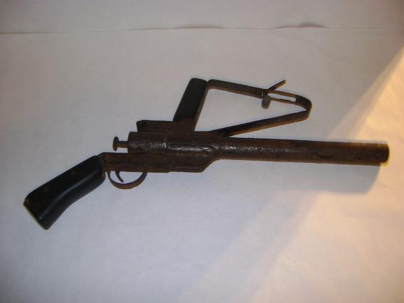 Antigua Pistola Lanza Bengalas Sin Fucionar