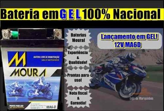 Bateria Moura Nx-4 Falcon 1999 2000 2001 Ma6d Ref Ytx 7lbs