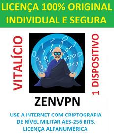 Vpn Zenvpn - Licença Vitalícia- 1 Apar - 5gb Dados Diário