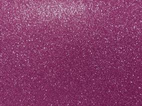 Papel Eva Unitário Rolo 48x40cm Metálico Glitter Lilas