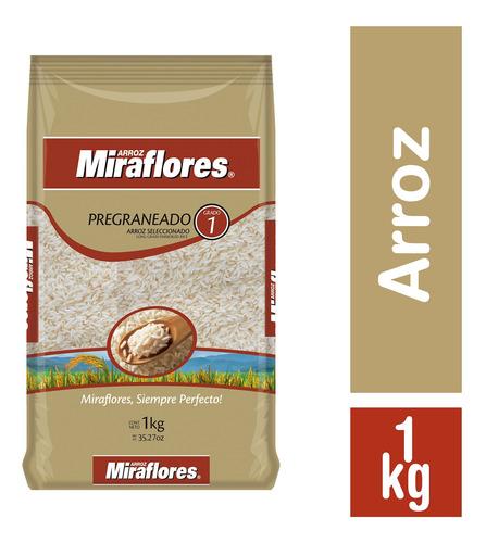 Imagen 1 de 1 de Miraflores Arroz G1 Pregraneado - 1kg