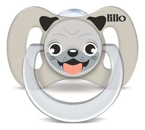Chupeta Funny Animais Silicone Cachorro - Lillo