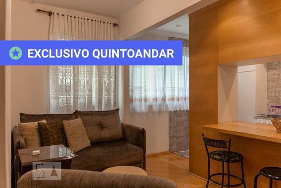 Apartamento No 6º Andar Mobiliado Com 1 Dormitório E 1 Garagem - Id: 892989026 - 289026