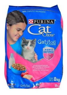 Cat Chow Gatitos X 8kg - kg a $14375