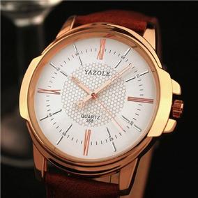 Relógio Masculino Yazole Original Super Luxo + Caixinha