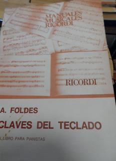 Libro Claves Del Teclado Andor Foldes Ricordi