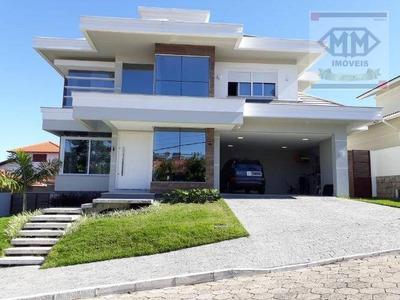 Casa Com 4 Dormitórios À Venda, 300 M² Por R$ 1.460.000 - Ingleses - Florianópolis/sc - Ca1652