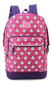 Mochila Escolar Panda Luxcel