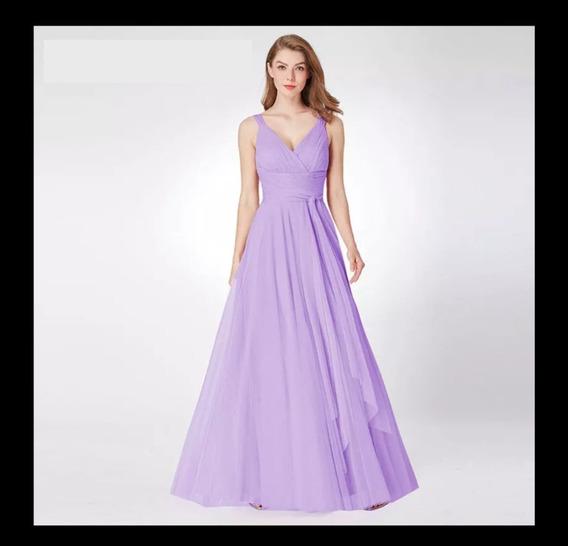 Vestido Noche Varios Colores Disp Dama De Honor Epep07303