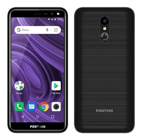 Smartphone Positivo Twist,dual Chip,preto,tela 5.34 ,5mp,8gb
