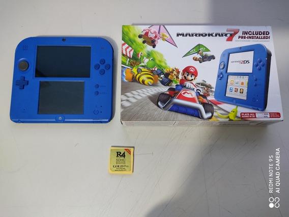 Nintendo 2ds Edição Mario Kart 7