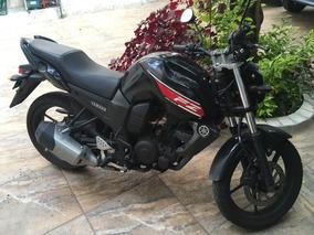 Yamaha Fz16 2015 Negra 13,000 Km
