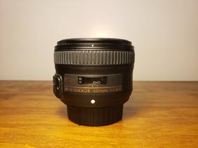Lente Nikkor 50mm F 1.8 G Nikon