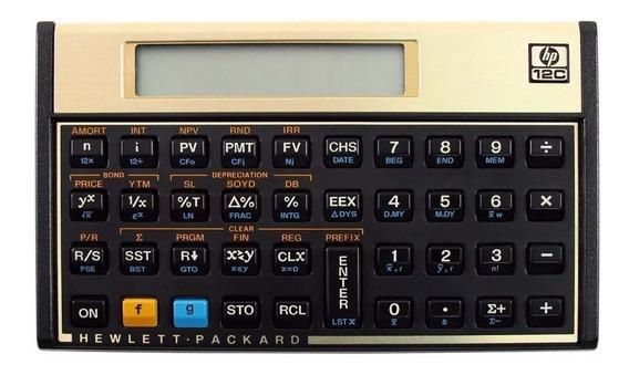 Calculadora Hp 12c Gold Original Lacrada Promoção