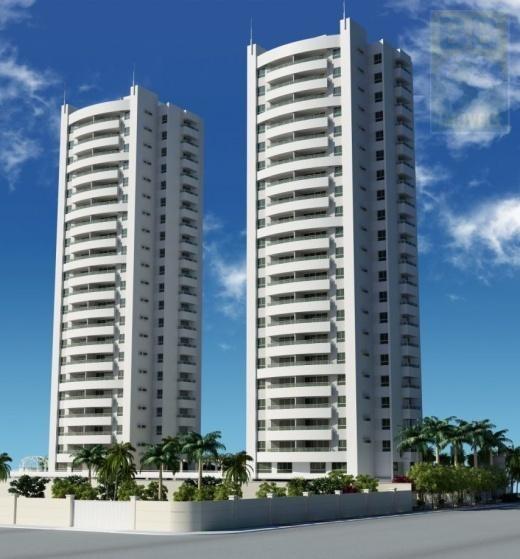 Apartamento Para Venda Em Natal, Capim Macio, 3 Dormitórios, 3 Suítes, 4 Banheiros, 2 Vagas - Royal Palms