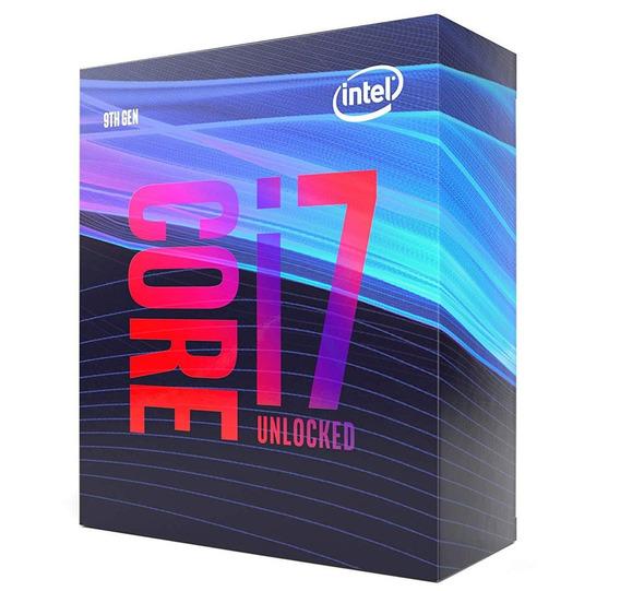 Processador Intel Core I7 9700k Lga1151 Coffee Lake 9ª Gera.
