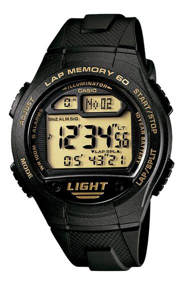 Relógio Casio W-734-9avdf Cronógrafo Esportivo - Refinado
