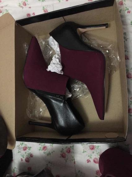 Botas Calzado De Mujer Talle 40 Vía Uno