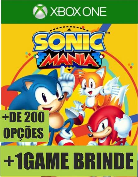 Sonic Mania Xbox One Digital On/off