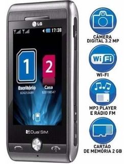 Celular Smartphone Lg Gx500 Titanium