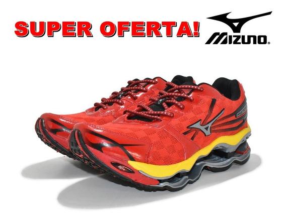 Tênis Mizuno Wave Prophecy Pro2 Vermelho