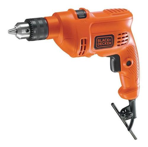 Furadeira elétrica de impacto Black+Decker PRO TM500 2800rpm 60Hz 500W laranja 127V