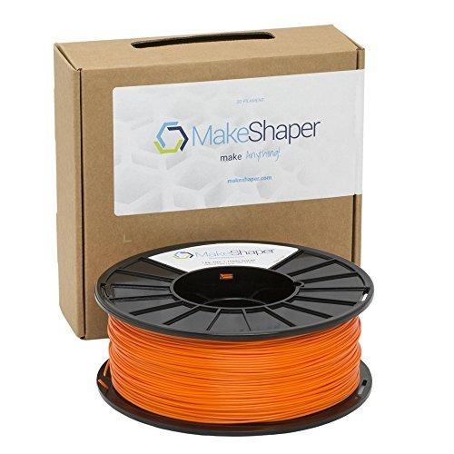 Filamento Makeshaper Abs, 1 Kg, 1.75 Mm, Naranja