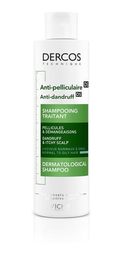 Shampoo Dercos Anti-caspa Pelo Graso 200ml