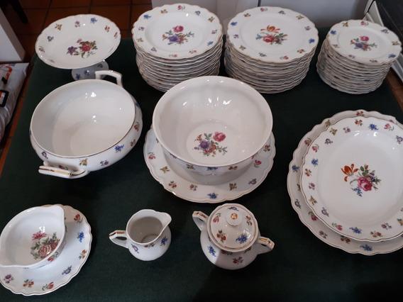 Juego Vajilla Porcelana Limoges Francia 1900