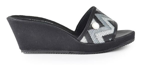 Zapatos De Mujer Sandalias Zuecos Cuero Giverny - Ferraro