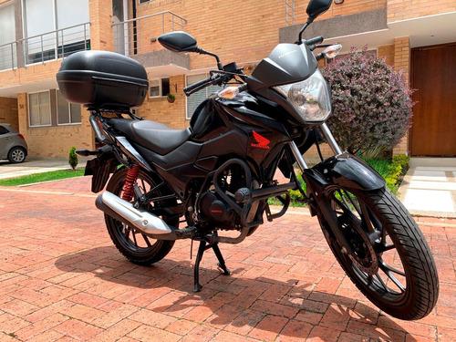 Honda Cb125f Negra
