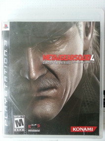 Metal Gear Solid 4 Mídia Física (usado)