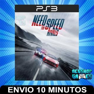 Need For Speed Rivals - Ps3 Digital - Español Entrega Rápida