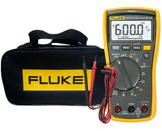 Multímetro Digital Com Detector De Tensão Fluke 117 Trms