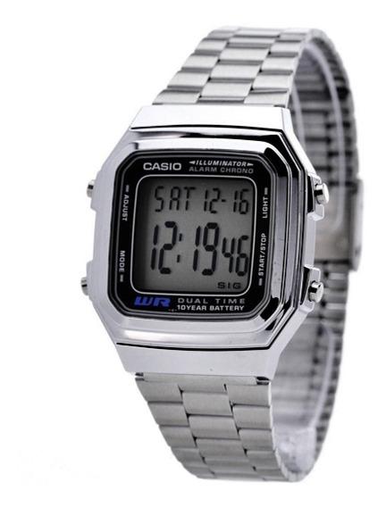 Relógio Casio Unissex Digital Metal A-178w-1avdf