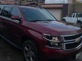 Chevrolet Suburban 5.3 Lt Piel Blanca Mt 2016