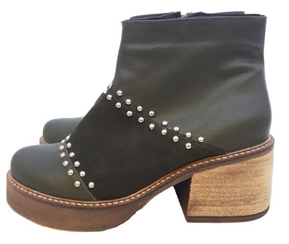 Botas Zapatos Mujer Cuero Envio Gratis Lubeca