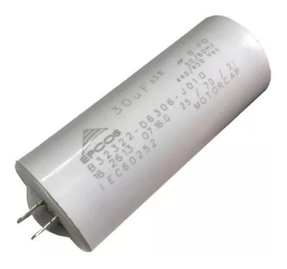 Capacitor 30uf 440/450vac Epcos Promoção