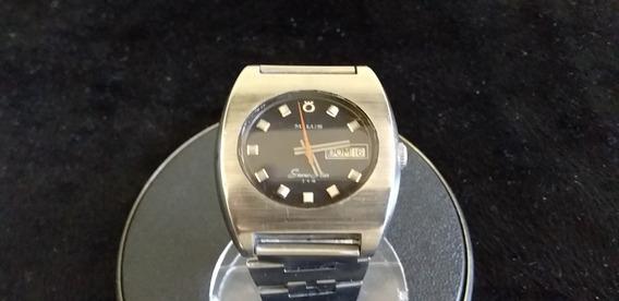 Relógio De Pulso Masculino Milus Automatic 25 Jewels